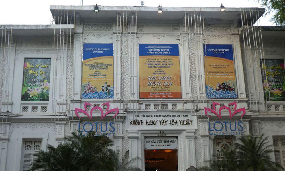 Lotus-Wasserpuppen-Theater-Hanoi